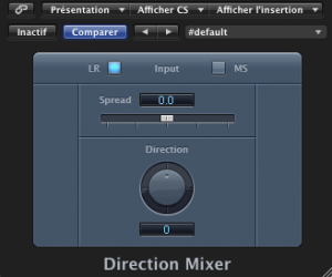 Direction Mixer by Logic Audio