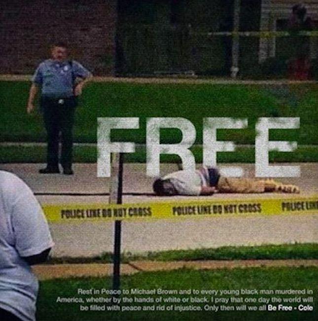J. Cole Be Free